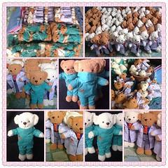 น้องหมีชุดคุณหมอ และชุดผ่าตัด ราชวิทยาลัยออโธร์ปิดิกส์แห่งประเทศไทย  ผลิตราคาส่ง ราคาปลีก ตุ๊กตาหมี ชุดตุ๊กตาหมี ออกแบบทุกชุด ชุดอาชีพ หมอ พยาบาล  ทหารเรือ ทหารบก เตรียมทหาร  ชุดนานาชาติ กิโมโน ฮันบก ชุดไทย ชุดแต่งงาน บ่าวสาว ชุดนักเรียน ประถม มัธยม มหาลั