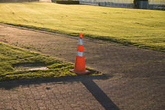 Cone (Liam Philip Photography) Tags: shadow orange sunlight golden evening cone