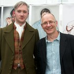 When Walter Scot met James Robertson at the Edinburgh International Book Festival