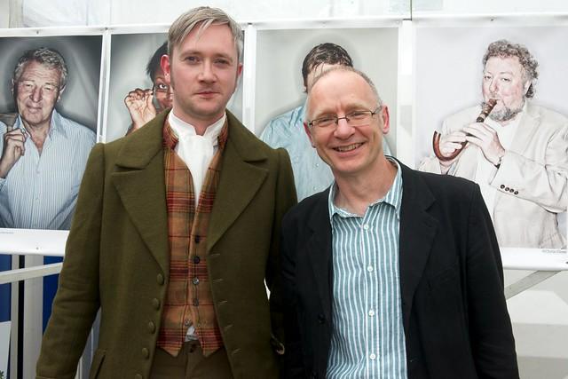 When Walter Scot met James Robertson at the Edinburgh International Book Festival