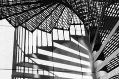 Spirals (Tadgh  Maoildearg) Tags: shadow abstract metal spiral sweden stairway sverige svartvitt