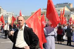 Communism (alessandraconroyf) Tags: russia moscow communism russian laborday putin moscu