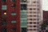 (eflon) Tags: city texture window glass rain beads drops dof bldgs