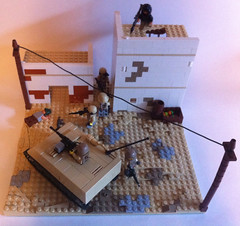 Modern combat: moving into town (tyfighter07) Tags: lego moc moderncombat brickbuilder7