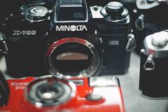 Vintage Minolta X-700 (enrique_128) Tags: photography sony streetphotography seoul filmcamera southkorea  urbanphotography filmphotography minoltalens 4 sonyminolta minolta50mmlens sonya6000 filmlensstore sewoonsquare jongro4ga filmlensrepair    piltopaz filmcamerastore