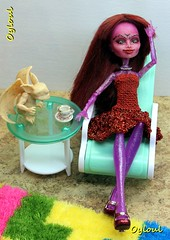 Return home (OylOul) Tags: monster high doll ooak cam 16 create custom