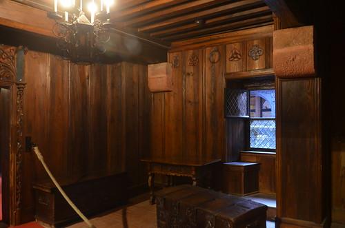 Le château du Haut-Koenigsbourg.Les appartements.02