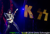 Kiss @ 40th Anniversary Tour, DTE Energy Music Theatre, Clarkston, MI - 08-23-14
