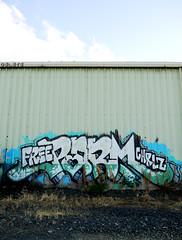 Free Parm (delete08) Tags: street urban streetart portland graffiti delete