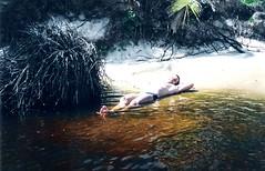 28 de janeiro de 2002. (Elias Rovielo) Tags: 2002 praia beach rio river bahia ba costadosaupe