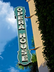 Opera House, Sarasota, FL (Robby Virus) Tags: house sign opera theater neon theatre florida sarasota