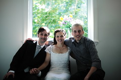 Susan and Colin were married today. They're among the best fit souls I've ever known. (berserkerpoetry) Tags: aboyathisvolcano day2484