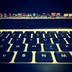 Macbook pro.. M loving it (v.chauhan2801) Tags: apple loveit enjoy macbookpro mymacbook