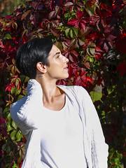 Marta (III) (PixPep) Tags: portrait bokeh beautifullight autumncolours beautifulwomen beautifulwoman beautifulnature beautifulmodel beautifulbokeh swedishmodel arvikasweden pixpep