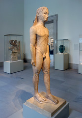 New York Kouros, view from left