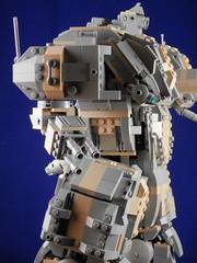 Extended Range Medium Laser array (Canis Arms Corporation) Tags: robot lego battetech mecha mech moc battlemech