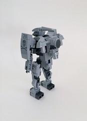 Unit 02 Durendal (funnystuffs) Tags: metal robot lego full panic custom aegis mecha durandal mech funnystuffs durendal carnwennan