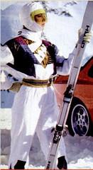 789654123 (onesieworld) Tags: snow ski fashion one shiny retro suit 80s piece nylon 90s catsuit onesie kink