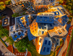 Over the Top (James Neeley) Tags: architecture lasvegas nevada aerialphotography frankgerhy clevelandclinic jamesneeley