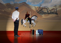 Illusion (Jenny!) Tags: show horse theatre stage photomontage theolouise