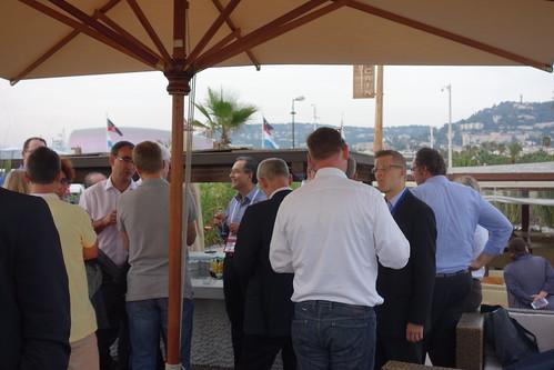 EPIC Dinner ECOC 2O14 Cannes - France (4)