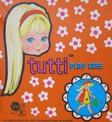 Mattel Tutti Play Case Close-Up 1965 (hmdavid) Tags: vintage doll play case 1960s mattel tutti 1965 plantinposies