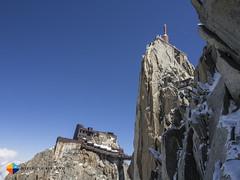 The Aiguille du Midi Station (HendrikMorkel) Tags: mountains alps mountaineering chamonix alpineclimbing arêtedescosmiques arcteryxalpineacademy2015