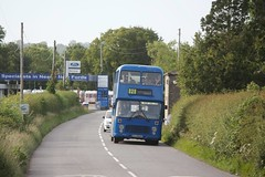 Photo of The power of music: Chepstow Classic Buses XJJ661V