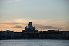 (Matteo Bimonte) Tags: sunset panorama suomi finland helsinki tramonto finlandia