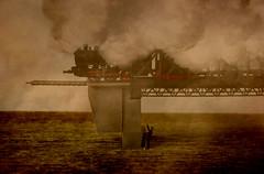 The last train (Jenny!) Tags: train railroad photomontage theolouise modelrailroad