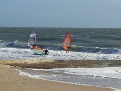 Windsurfers, Southbourne (DorsetBelle) Tags: windsurfers beach seaside southbourne bournemouth dorset