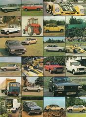 Renault Collage (1978) (andreboeni) Tags: classic car automobile cars automobiles voitures autos automobili classique voiture rétro retro auto oldtimer klassik classica publicity advert advertising advertisement renault 4 5 6 12 15 16 17 20 30 r4 r5 r6 r12 r15 r16 r17 r20 r30 30ts saviem 14 r14 f1 a441 a442 alpine estafette van fourgonette furgoncino