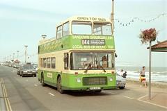 681 (FDL 681V) - Shanklin Esplanade (GreenHoover) Tags: southernvectis iow isleofwight bus shanklin shanklinesplanade bristolvr 681 fdl681v service44 opentopbus opentop villagebuscompany