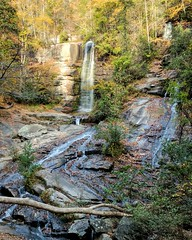 One of the easiest I've found to date to take pictures of. So many perspectives to choose from! (sarah.deveau) Tags: waterfall waterfalls foliage autumn fall nature pixel falls sc