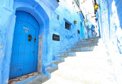 Chefchaouen (elenaclic) Tags: ocean street travel blue sea people urban bw colour men london birds corporate seaside women europe atlantic business fez bm marrakesh chefchaouen essaouira fes plases moroccoafrica