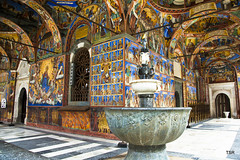 Bulgaria-Rila Monastery frescoes (Explore 06/19/2014) (doveoggi) Tags: mountains europe bulgaria balkans easterneurope rilamonastery 4692 rilamountains