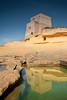 Xlendi Tower (@spor) Tags: reflection tower bay malta gozo xlendi explored