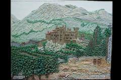 GA12171 | Panorama con Castello di Carini (GIGARTE.com) Tags: m su arti 2008 tela internazionale archivio naif montalto pittore bassorilievo artecontemporanea contemporanee gigarte portalearte maltontoelchime ga12171 mm0026