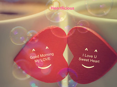 Heartlicious-Good-Morning-12 (Heartlicious) Tags: morning cute love illustration hearts creativity idea amazing graphics kiss good decoration lovers romantic hugs greetings luzmo