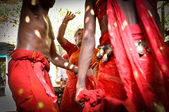 Revering the Mother Goddess  Bharani (Leonid Plotkin) Tags: india festival religious oracle asia traditional religion goddess kerala celebration ritual tradition hindu hinduism mela mothergoddess bharani kodungallur kodungalloor vellichappad vellichappadu
