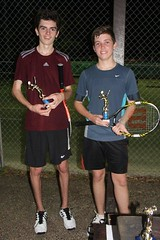 PTC Club champs 2014 IMG_8746.jpg From left doubles winners  Brayden and Henri