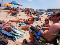 P6070407 (photos-by-sherm) Tags: ocean summer beach nc sand surf north atlantic carolina walkers sunbathers