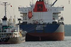 Anchor (Speedbird747) Tags: sea japan port ship anchor moor 海 港 船 福岡 門司 北九州
