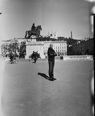 Damien (Denis G.) Tags: portraits rodinal chambre portaits largeformat viewcamera 2014 foma100 standdev largeformatportrait buschpressmand damienpoudret