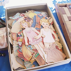 vintage paper dolls (holiday_jenny) Tags: sea summer beach vintage newjersey asburypark nj antiques flea jerseyshore fleamarket oceangrove njshore greatauditorium tenthouses