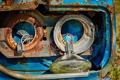 "June 2014, Digital, Intermediate Class, ""Rusted And Busted"" (VirtualMirage) Tags: cars rust sony junkyard tamron 90mm hdr tamron90mm a77 cameraclub tamronspaf90mmf28di 90mmmacro slta77"