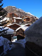 Chalet kingdom at Zermatt!