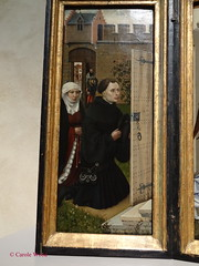 New York City - Manhattan - The Cloisters (Fontaines de Rome) Tags: newyork robert triptych manhattan room cloisters annunciation merode thecloisters campin altarpiece robertcampin merodealtarpiece annunciationtriptych meroderoom