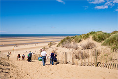 On the beach (Mister Oy) Tags: beach southport davegreen formby oyphotos fuji18mmf2 fujixt1