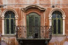An old house (hjuengst) Tags: italien italy orange house green italia haus oldhouse abandon verona verlassen expire veneto verfallen hausfront venetien nikond7000